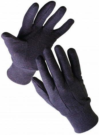 Comedero para guantes de trabajo, algodón y jersey, cosido, Negro 10: Amazon.es: Bricolaje y herramientas