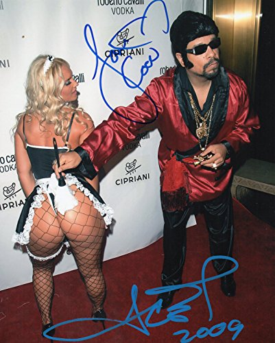 - Ice T & Coco Signed Hip Hop Rap Halloween Party 8x10