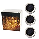 The Best Solar Powered LED Light is perfect for solar walkway lighting, garden/patio/lawn pendant light, solar garden lighting, and creating a perfect summer ambiance on your patio.   Fits for most regular mouth mason jar, put the solar panel...