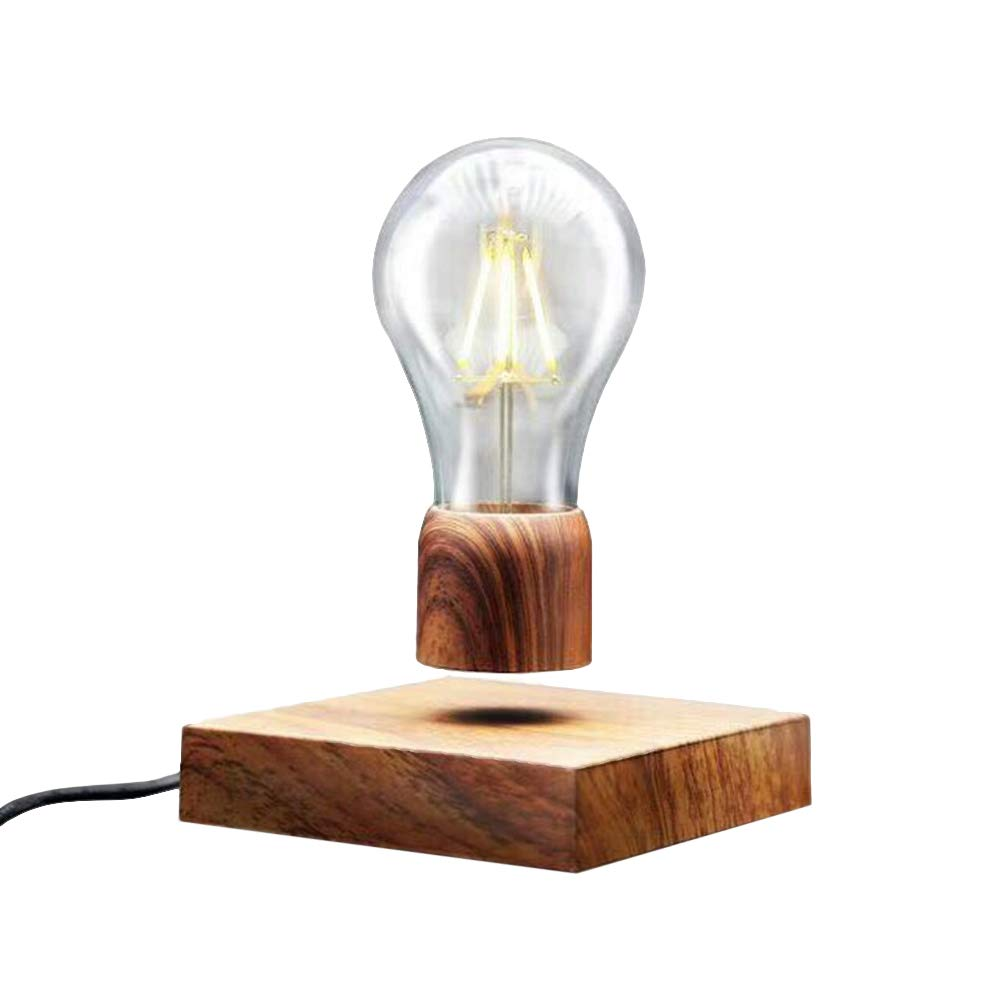 Mobestech Mini Wood Table Lights Retro Wooden Base Desk Lamps for Bedroom College Dorm Bookcase with US Plug