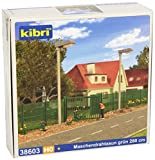 HO Scale Green Mesh Fencing 3m by Kibri