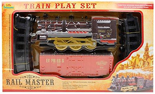 Little Treasures Rail Train Educational Play Set PY00823