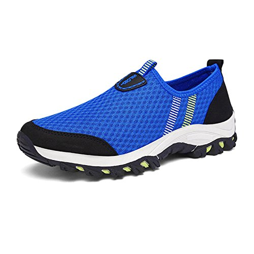Ladies Running Women Hiking Walking Waterproof Outdoor Shoes Shoes Sports Mesh snfgoij Mountaineering Blue Casual Breathable Shoes Adgq1ngw