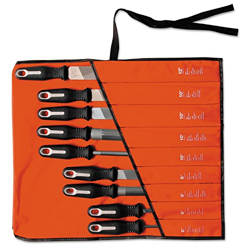 Nicholson 22030HNN Ergonomic File Set, 9 Piece by Nicholson