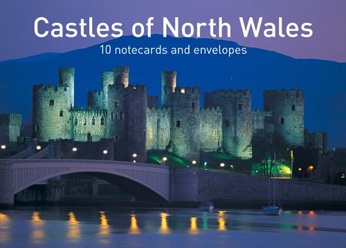 Castles of North Wales Notecards: 10 cards and envelopes