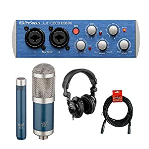 PreSonus AudioBox 96 USB 2.0 Audio Recording ...