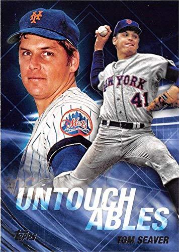 Tom Seaver baseball card (New York Mets) 2017 Topps Update #U23 Untouchables Insert Edition