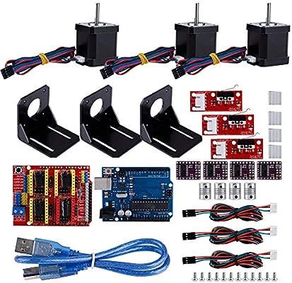 Kit CNC de impresora 3D para acoplamiento Arduino +4 Kit de ...