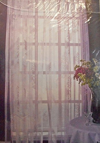 mervyns-home-rod-pocket-panel-curtain-lilacs-lace-sheer-58-x-84