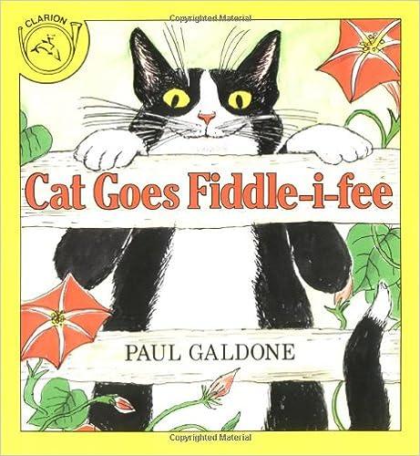 Cat Goes Fiddle-i-fee por Paul Galdone