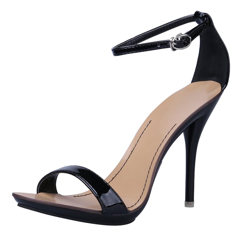 aba5b5e9a410 cheap OCHENTA Women s Classic Dancing Stiletto High Heel Open Toe Ankle  Strap Sandals