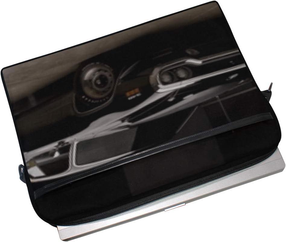 Plymouth Road Runner 340 Rm23 Laptop Shoulder Messenger Bag Case Sleeve for 14 Inch to 15.6 Inch with Adjustable Notebook Shoulder Strap