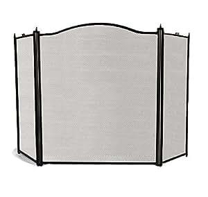 Amazon Com Amagabeli 3 Panel Large Fireplace Screen Doors