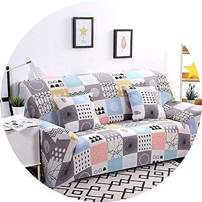 Little Happiness- Universal Sofa Cover Flexible Stretch Big Elasticity Couch Cover Loveseat Sofa Furniture Cover Sofa Towel 1/2/3/4-seat Sofa Funda
