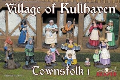 The Village of Kullhaven Townsfolk I Boxed Set Miniatures by Reaper