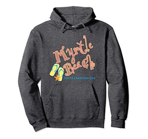 - Unisex Myrtle Beach South Carolina souvenir hoodie Medium Dark Heather