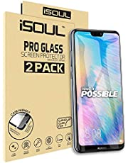 ISOUL [2 Pack] Screen Protector for Huawei P20 Lite