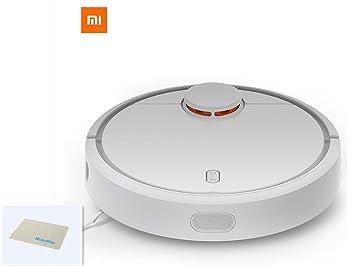 Original XIAOMI MI, Robot aspirador robot Barredora, Robot aspiradora, limpiador con aspiración LDS 12 sensores App control, color blanco: Amazon.es: Hogar
