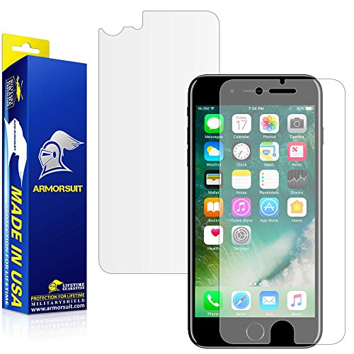 iPhone 7 Plus Matte Screen Protector + Back Protector [Case Friendly], ArmorSuit...
