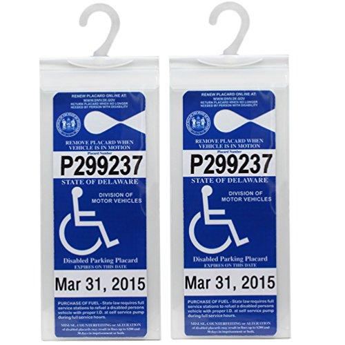 Handicap Placard: Amazon.com