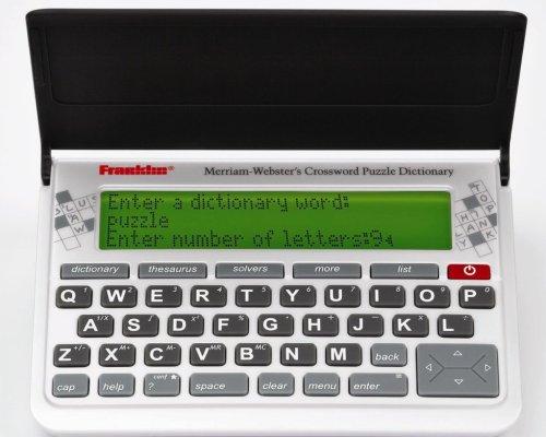 Merriam-Webster CWP-570 Crossword Puzzle (Sound Crossword Puzzle)