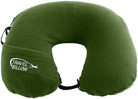 Billow TBGR 2 in 1 Travel Neck Pillow
