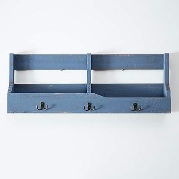 Ganchos para colgadores Perchero de pared con almacenamiento ...
