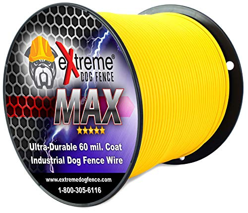 Maximum Performance Dog Fence Wire - 1000 Ft. 14 Gauge Wire with Ultra Thick 60 Mil Polyethylene Protective Jacket - Designed for Max Life Reliability and Low Signal Loss - Universal Compatible by Extreme Dog Fence (Image #2)