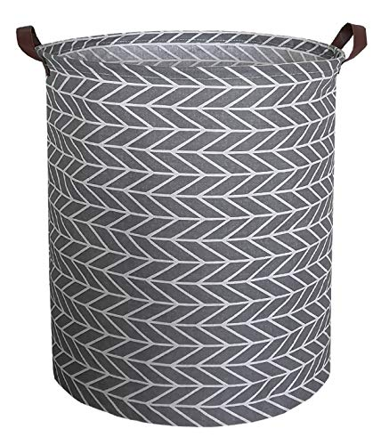 - CLOCOR Toy Large Storage Bin-Cotton Storage Basket-Round Gift Basket with Handles for Toys,Laundry,Baby Nursery(Arrowhead)