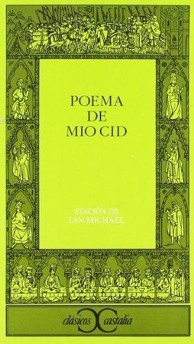 By Anonimo Poema del Mio Cid (Clasicos Castalia) (Clasicos Castalia / Castalia Classics) (Spanish Edition) (2. ed) [Paperback] PDF