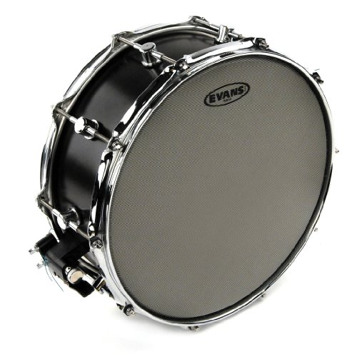 Evans Hybrid Coated Snare Batter Drum Head, 14 Inch (Best Snare Drum Head For Rock)