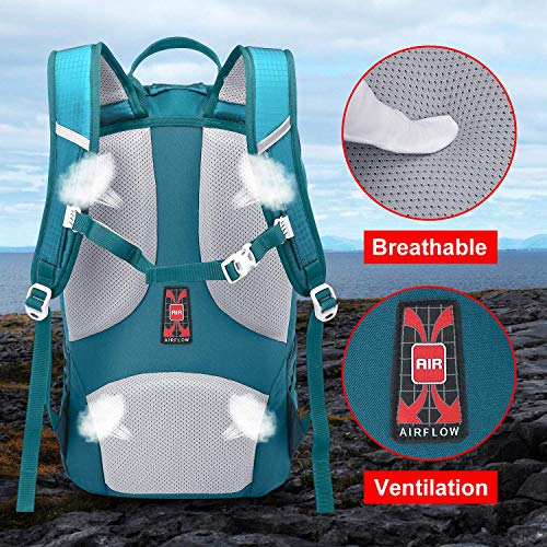 NEVO RHINO 30L Business Casual Backpack Lightweight Camping Hiking