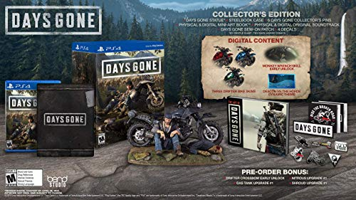 Days Gone Collector's Edition - PlayStation 4