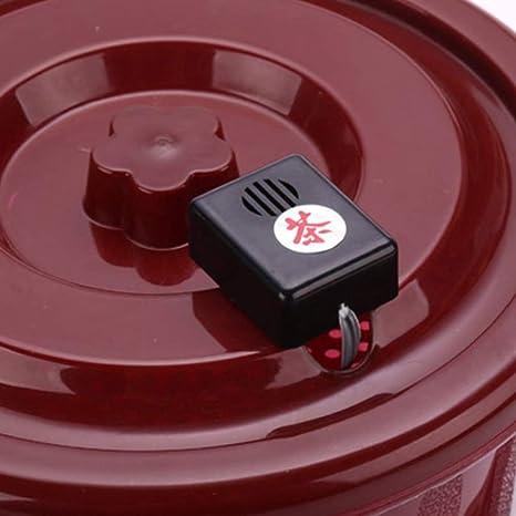 UPKOCH Alarma de Desbordamiento de Agua Sensor de Fuga de Agua Alarma del Cubo de T/é Accesorios de La Ceremonia del T/é Chino Accesorios Matcha