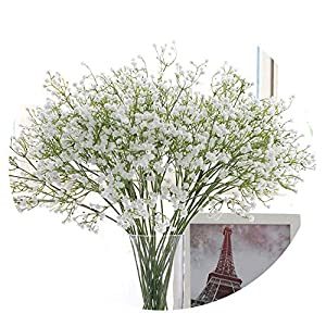 HuaHua-Store DIY Artificial Baby's Breath Flower Gypsophila Fake Silicone Plant for Wedding Home Hotel Party Decoration 5 Colors 6
