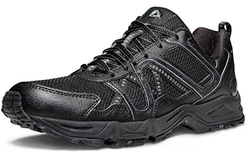 Tesla Mens Outdoor Sneakers Trail Running Shoe T330/T320 A2-T320-BLK CTr2CWoD