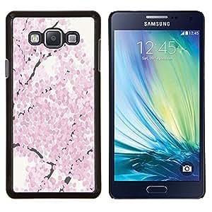 Stuss Case / Funda Carcasa protectora - Flor de cerezo de la acuarela primavera Pétalo - Samsung Galaxy A7 ( A7000 )