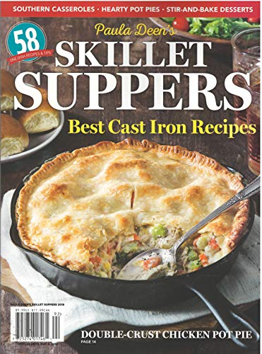 Paula Deen's Skillet Suppers Best Cast Iron Recipe Magazine 2019