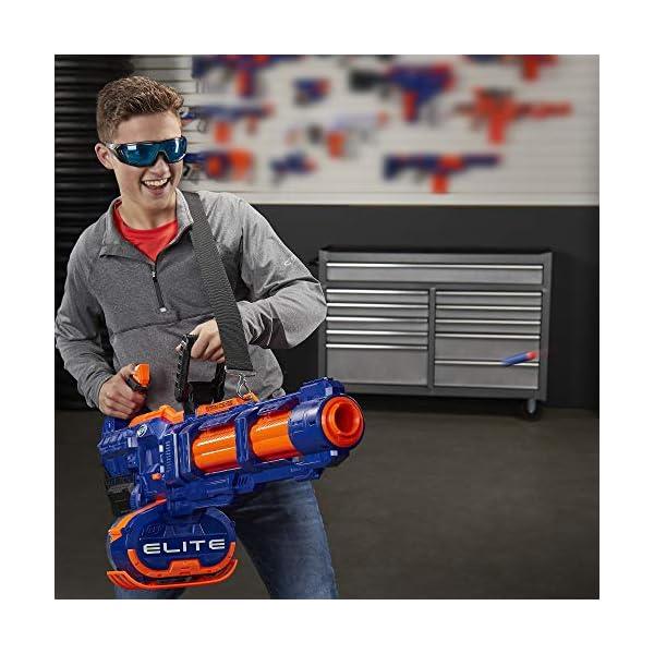 Nerf-Elite-Titan-CS-50-Toy-Blaster-Fully-Motorized-50-Dart-Drum-50-Official-Elite-Darts-Spinning-Barrel-For-Kids-Teens-Adults