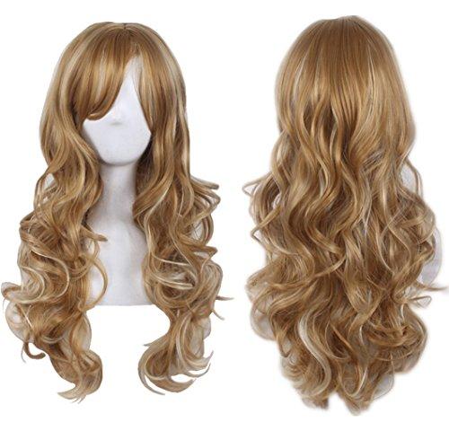 Blonde Hair Wig Golden - AneShe 27.5