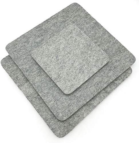 Precision Quilting Tools B/ügelmatte aus Wolle 22,9 x 22,9 cm