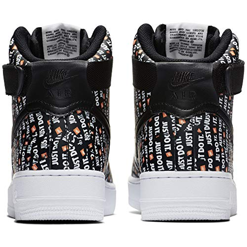 White Black Force Multicolore de Air Mixte 1 001 High LX NIKE Orange Adulte Black Gymnastique Chaussures Total wOq5Af