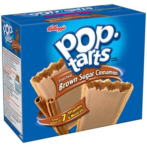Pop-tarts Toaster Pastries Frosted Brown Sugar Cinnamon 21 OZ (Pack of 24) by Pop-Tarts
