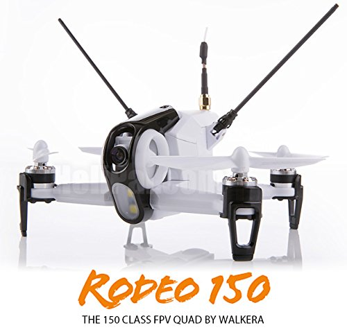 Walkera Rodeo150 Quadcopter DEVO 7 Transmitter 5.8G FPV 600TVL Camera with Extra Battery