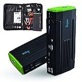 Indigi Heavy Duty Mobile 12800mAh USB 12V Emergency Jump Starter Power Bank Travel Kit