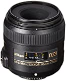 : Nikon AF-S DX Micro-NIKKOR 40mm f/2.8G Close-up Lens for Nikon DSLR Cameras