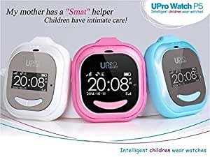 lost-anti ARBUYSHOP UPRO P5 Alarma Inteligente GPS de los cabritos del reloj Localizador de Niños SOS Ayuda compatible con el teléfono Android