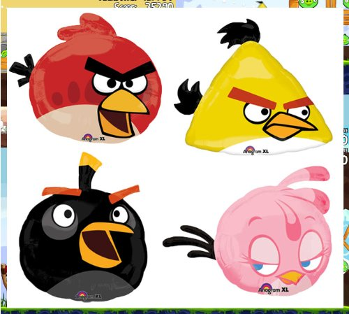 Angry Birds Assorted 23