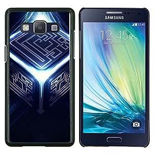 Jordan Colourful Shop - Abstract Cube For Samsung Galaxy A5 A5000 A5009 Personalizado negro cubierta de la caja de pl????stico