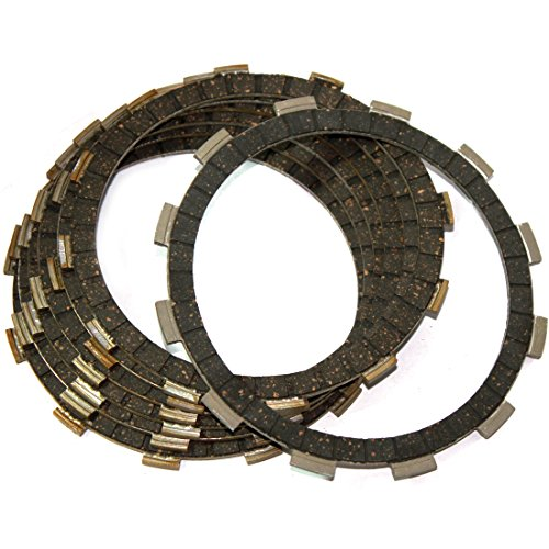 Caltric CLUTCH FRICTION PLATES Fits HONDA CB750K CB-750K Four 750K 1976-1978